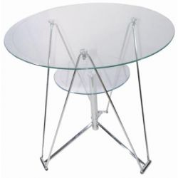 Table ronde verre Segi