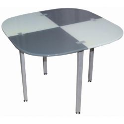 Table ronde en verre Flugvel