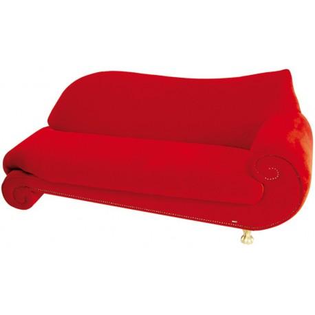 Canapé rouge Tornado