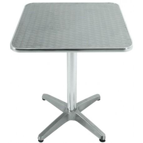 Table alu carré Kothak
