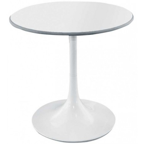 Table ronde blanche Bunga