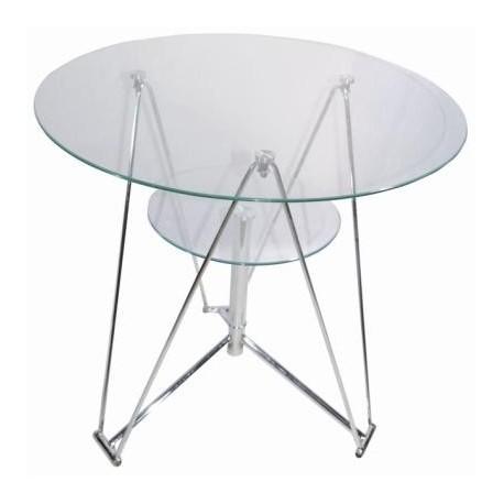 Table ronde verre Segi