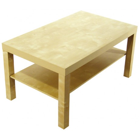 Table basse Laydi bouleau