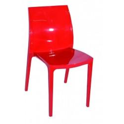 Chaise blanche Plast