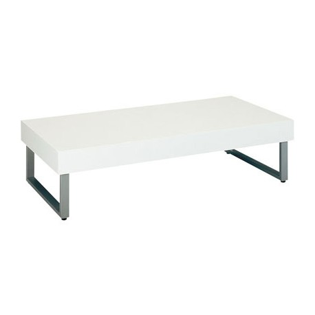 Table basse blanche Vidrio