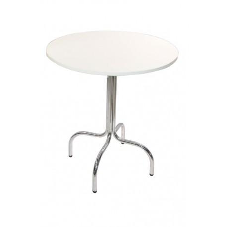 Table ronde blanche Noge