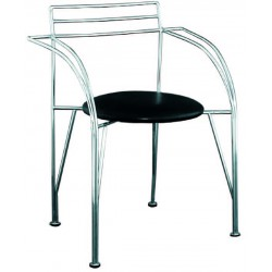 Chaise chrome Miotal