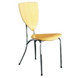 Chaise de bureau en bois