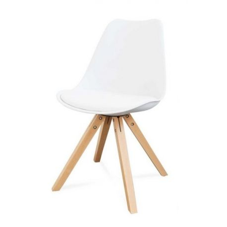 Chaise blanche Diva