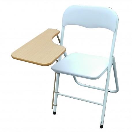 Chaise pliante bleue Lipat