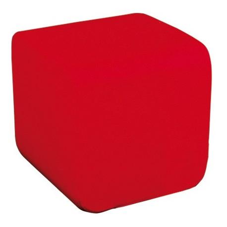 Pouf Kupiki rouge