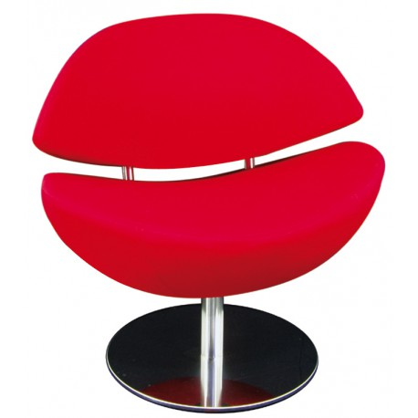 Fauteuil Mouth rouge