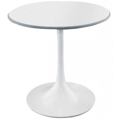 Table ronde blanche Bunga