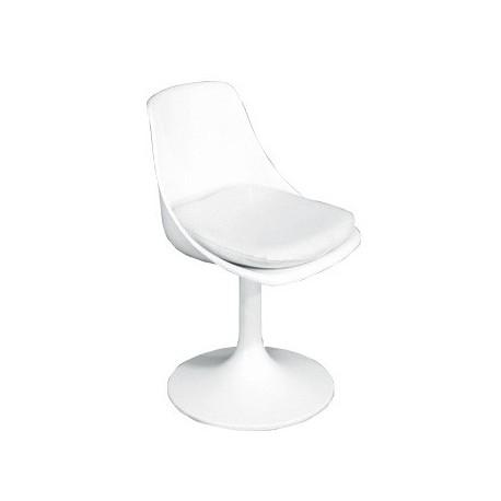 Chaise blanche Kerusi