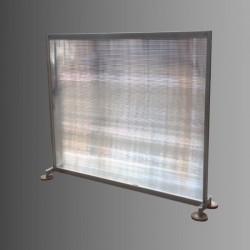 Cloison translucide hauteur 1m20
