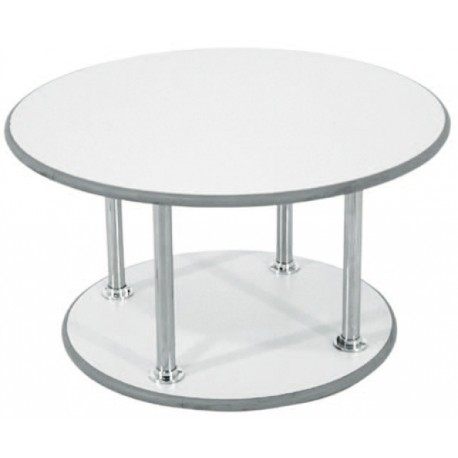 Table basse blanche Rodet