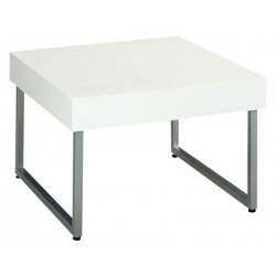 Table basse blanche  Saman