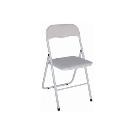 Chaise pliante blanche Lipat