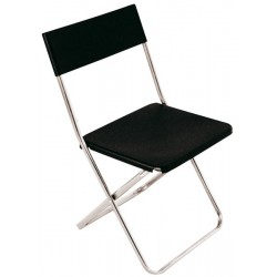 Chaise pliante blanche Kancane